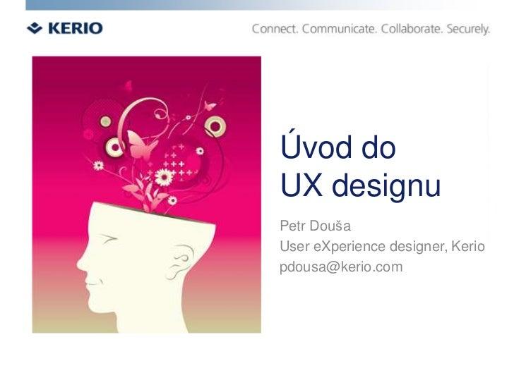 Úvod do UX designu