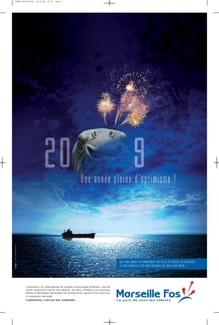 ••VOEUX-1P-LP-2008                        18/12/08   15:55   Page 1       Pour le port de Marseille Fos                   ...