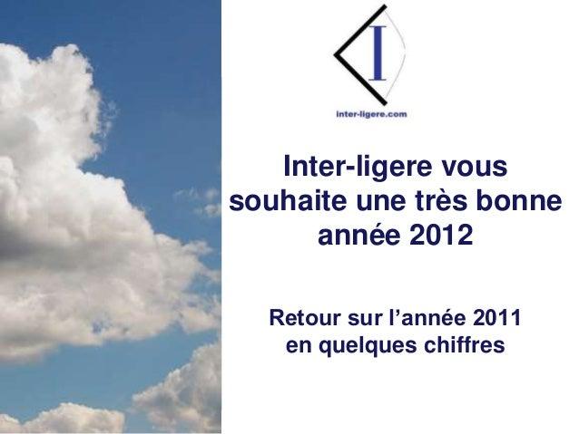 Inter-Ligere SARL - Site: inter-ligere.com - Blog: inter-ligere.net I Inter-ligere vous souhaite une très bonne année 2012...