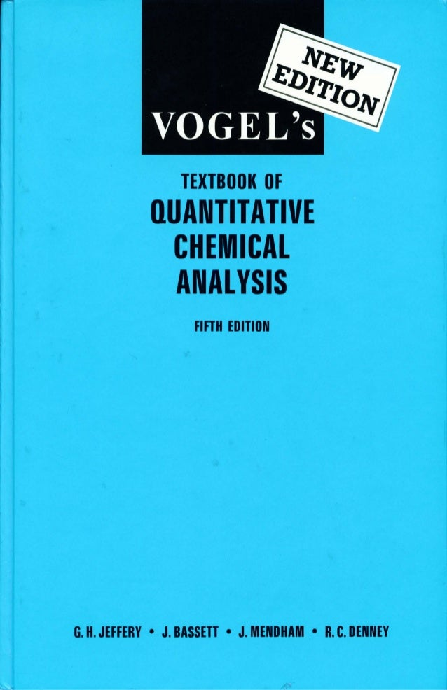 TextbookOfQuantitativeChemicalAnalysisThEd
