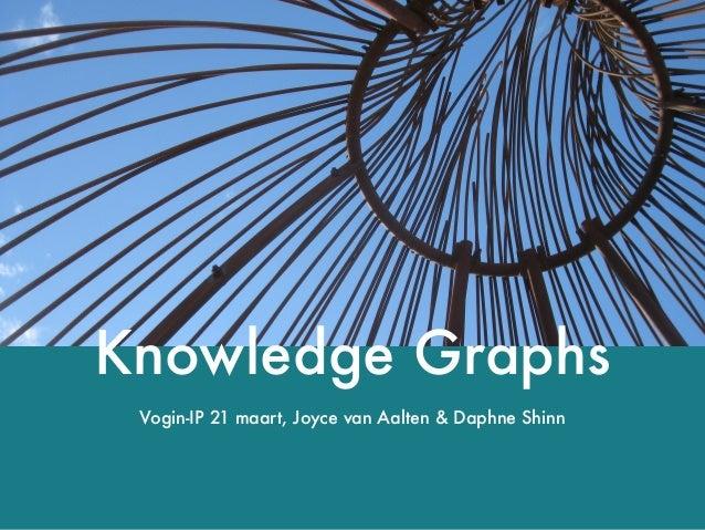 Knowledge Graphs Vogin-IP 21 maart, Joyce van Aalten & Daphne Shinn