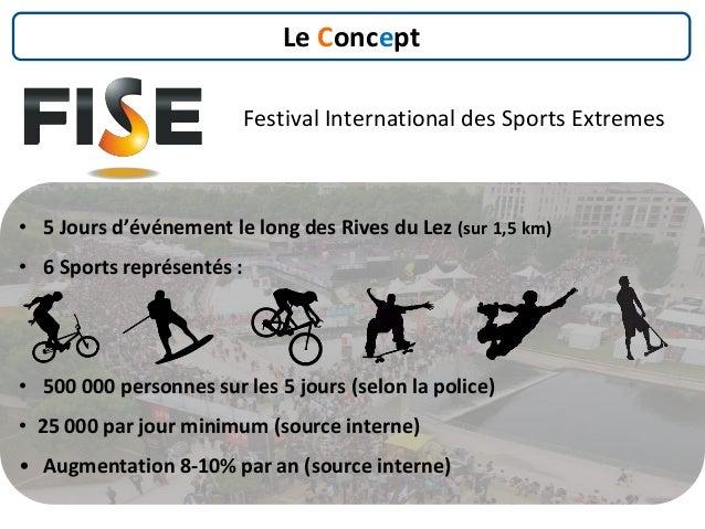 Festival International des Sports Extremes Le Concept • 5 Jours d'événement le long des Rives du Lez (sur 1,5 km) • 6 Spor...