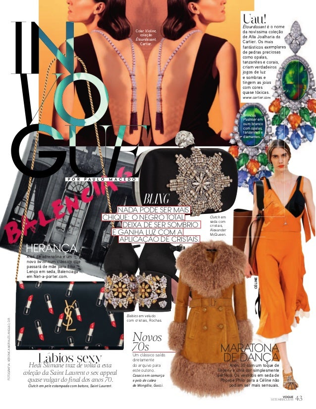 1cfa831ef0f Vogue – Nº 155 Setembro (2015)