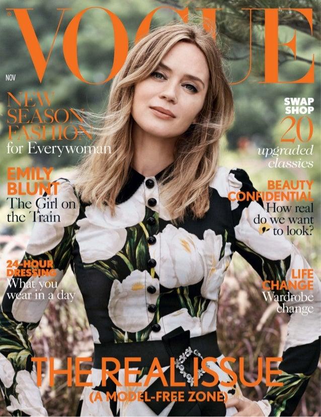 9e4503eb4dc Vogue uk november 2016