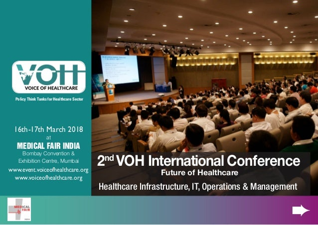 VOH - International Healthcare Conference in Mumbai - March
