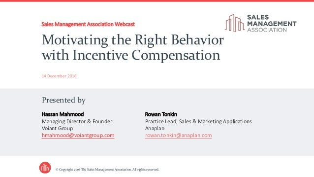 sale incentives to motivate the right behavior to increase company profits Steven b wheeler, steven b wheeler has 15 years of consulting experience in channel strategies and management across such industries as automotive, trucking, consumer packaged goods and building productshe currently leads the automotive activities for booz-allen in europe, based in munich, germany, and is a member of the board of directors of the company.