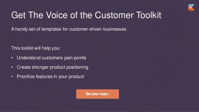 customer template