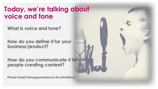 Defining your brand's voice and tone Slide 2