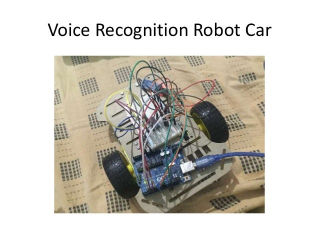 Voice controlled robot ppt