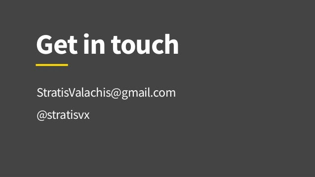 Stratis Valachis, Designing for Voice Interfaces