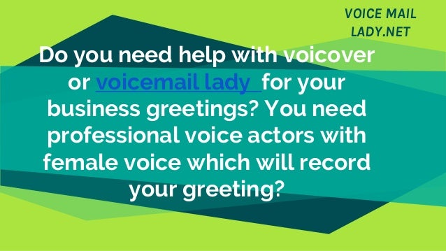 Best professional voicemail greetings you can use m4hsunfo Image collections