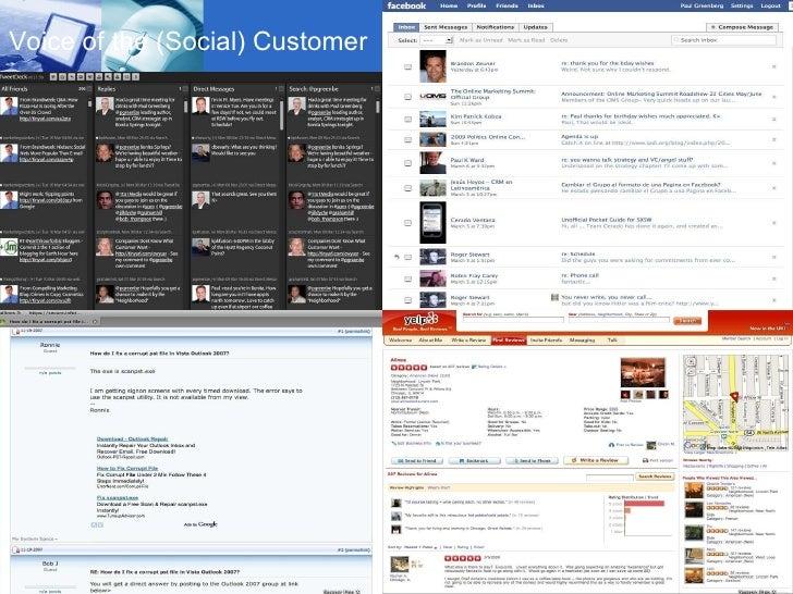 Voice Of The Customer 2009 Slide 2