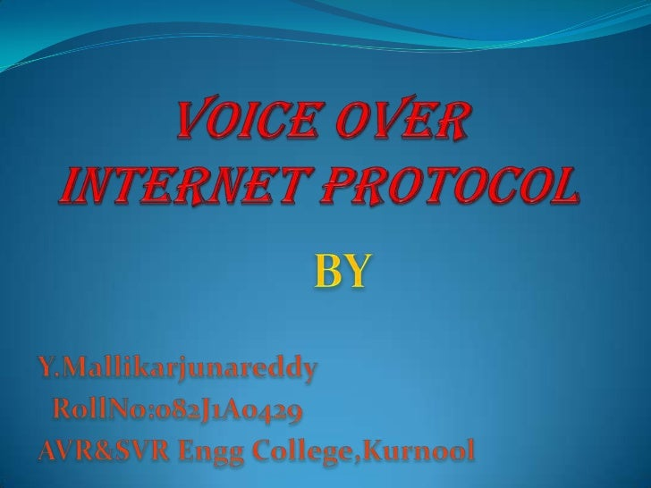 VoIP (voice over IP - that is, voice delivered using the Internet Protocol) is aterm used in IP telephony for a set of fac...