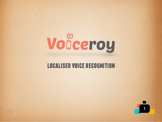 1 localisedvoicerecognition