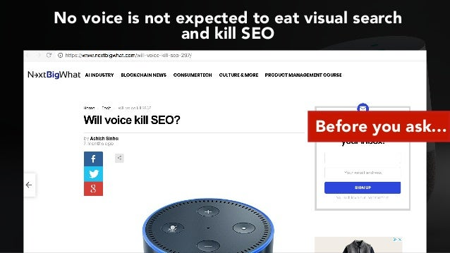 Optimizing for Voice Search #SMXL18 Slide 2