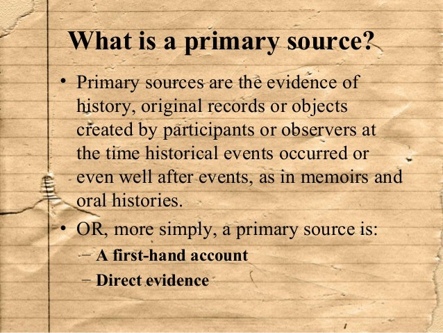 primary source Browse the primary source collection | find professional development resources | create lessons this network is part of a collaborative effort between iskme and.