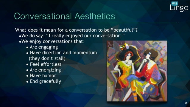 Voice User Interface Aesthetics What Does It Mean To Create A Beauti