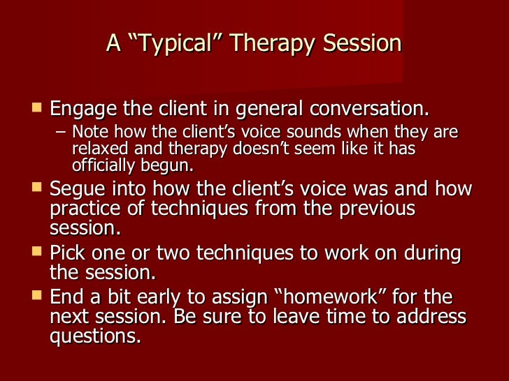 how to become a voice therapist