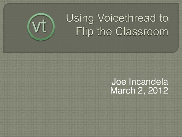 Joe Incandela March 2, 2012 vt
