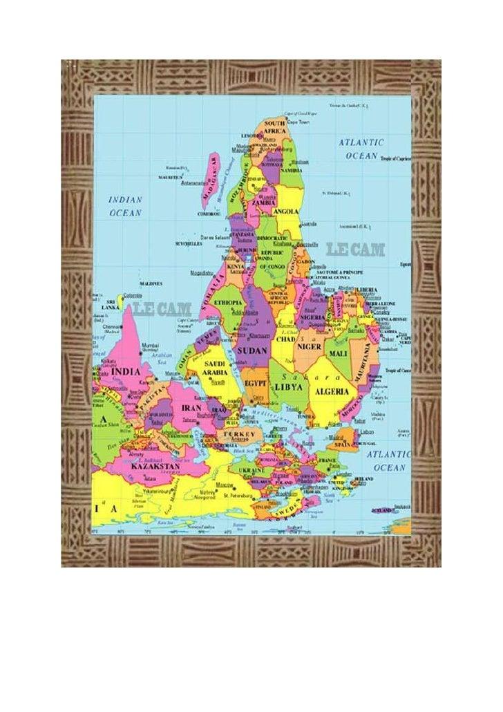 VOICI LA VRAIE CARTE DE L´AFRIQUE CACHÉE AUX AFRICAINS DEPUIS 600 ANSAfin que nul ne l´ignore plus.La carte géographique o...