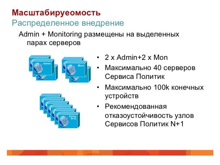 МасштабируеомостьРаспределенное внедрение Admin + Monitoring размещены на выделенных   парах серверов      Admin          ...