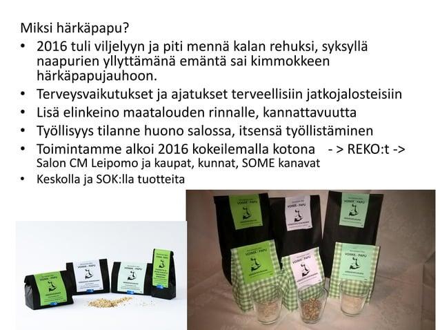 Tärkeä osa Reseptit www.karviaistentila.fi/reseptit