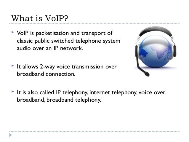 a revolutionary technology voice over internet protocol The internet protocol (ip) over the public internet or a private data network1 in simpler terms, voip converts the voice signal from your telephone into a digital signal that travels over the internet.