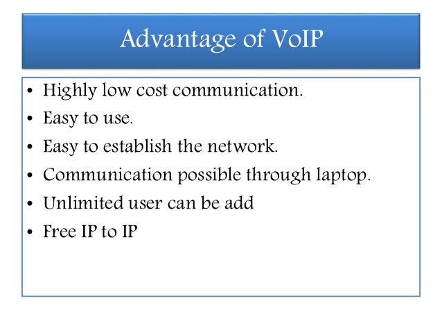 voip advantages and disadvantages Voip
