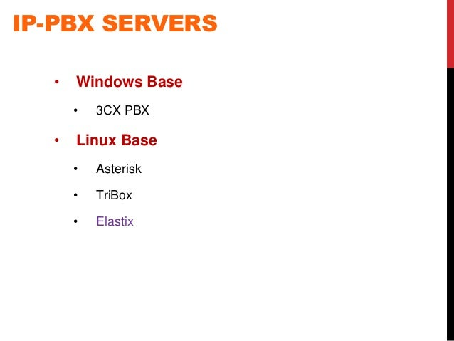Linux VOIP