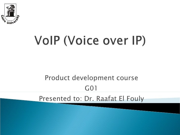 Product development course G01 Presented to: Dr. Raafat El Fouly