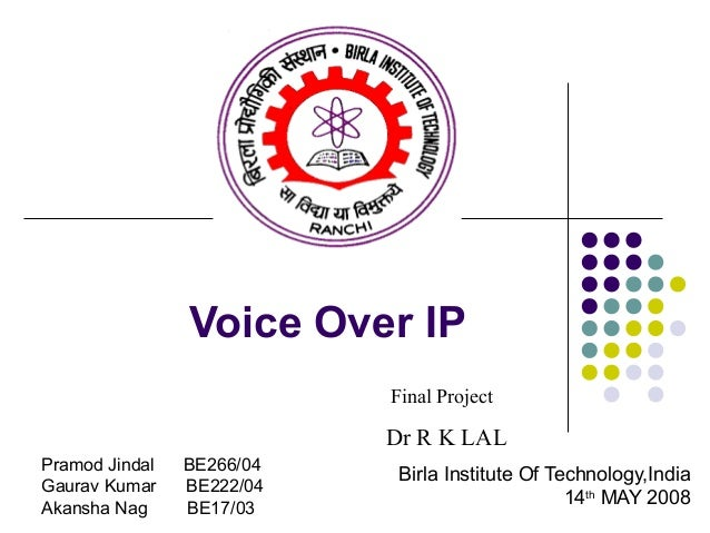 Voice over ip research papers