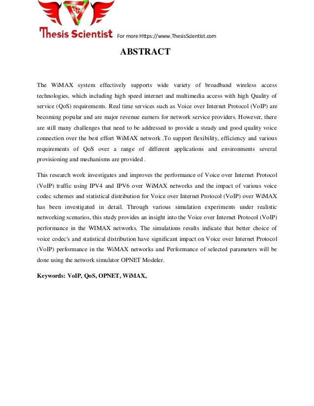 thesis keywords