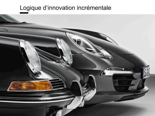 www.15marches.fr Logique d'innovation incrémentale
