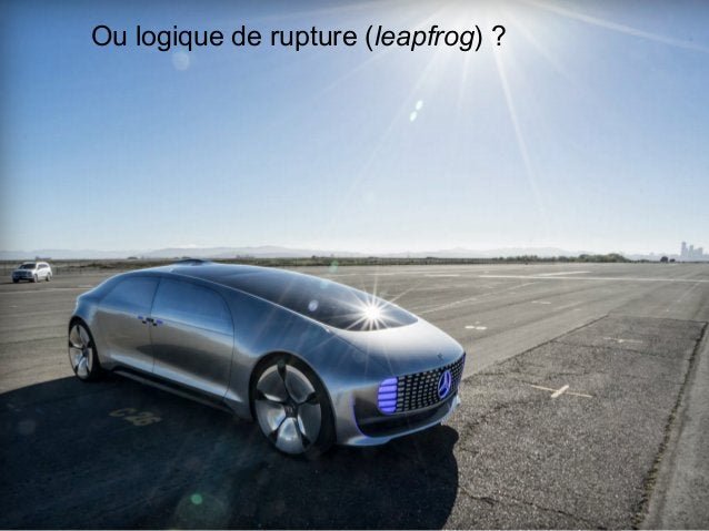 www.15marches.fr Ou logique de rupture (leapfrog) ?