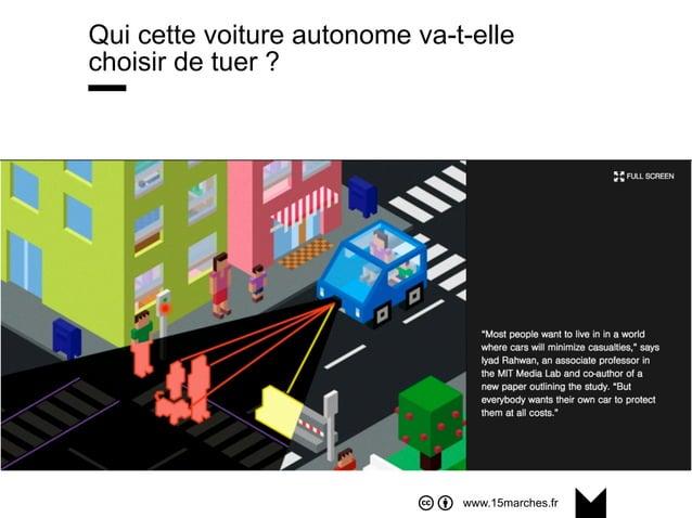 www.15marches.fr Qui cette voiture autonome va-t-elle choisir de tuer ?