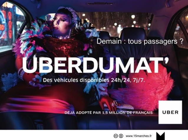 www.15marches.fr Demain : tous passagers ?