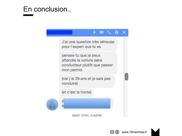 www.15marches.fr En conclusion…
