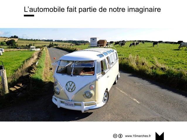 www.15marches.fr L'automobile fait partie de notre imaginaire
