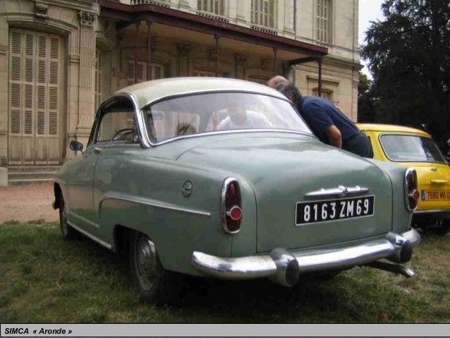 Étonnant Voiture Simca De 1950 A 1975 voitures populaires 1950 1960