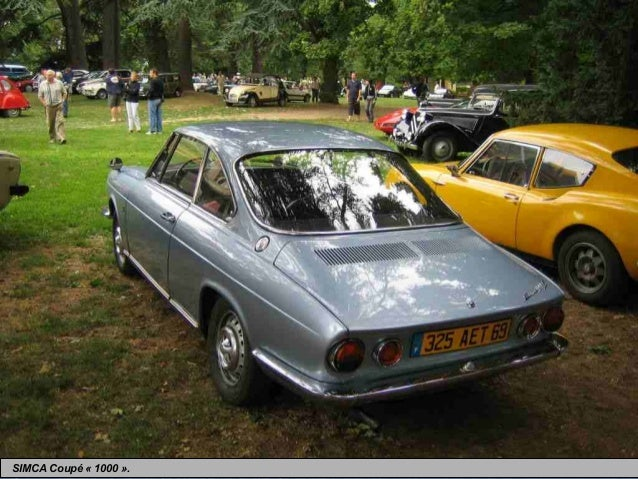 Voiture Simca De 1950 A 1975 voitures populaires 1950 1960