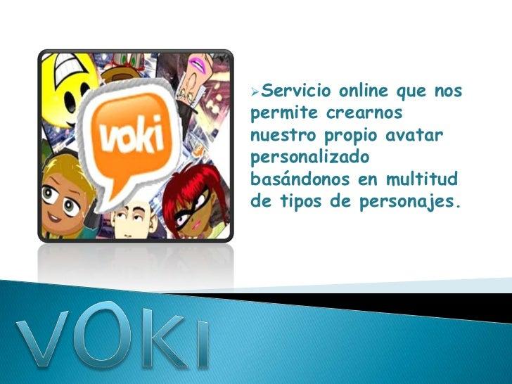 Servicio online que nospermite crearnosnuestro propio avatarpersonalizadobasándonos en multitudde tipos de personajes.