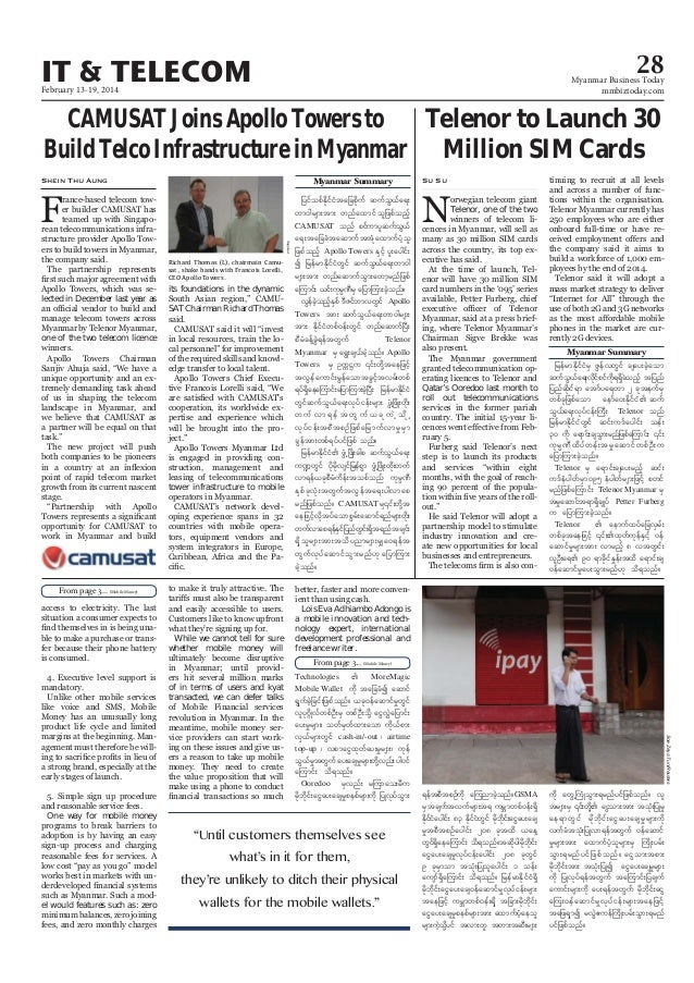 Myanmar Business Today - Vol 2, Issue 7