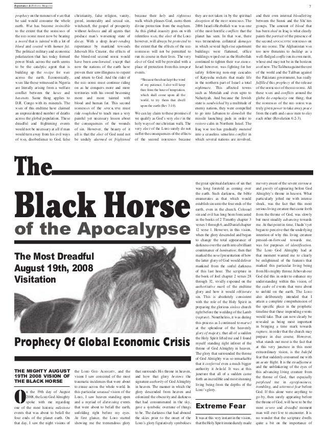 Global economic crisis 2008 presentation church