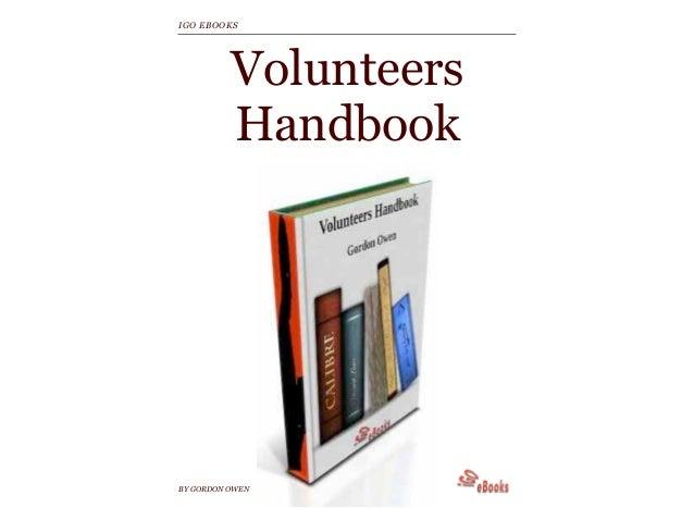 VolunteersHandbookBY GORDON OWENIGO EBOOKS
