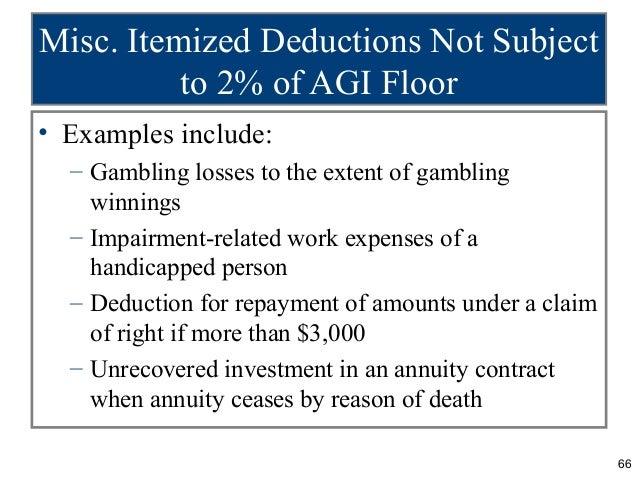 Gambling losses deduction 2015 golden nugget online casino atlantic city promo code