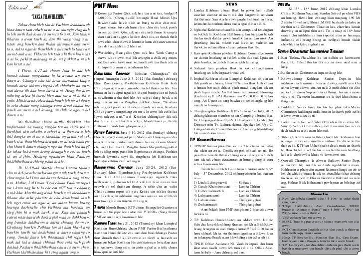 TP Newsletter July - September 2012 Slide 2