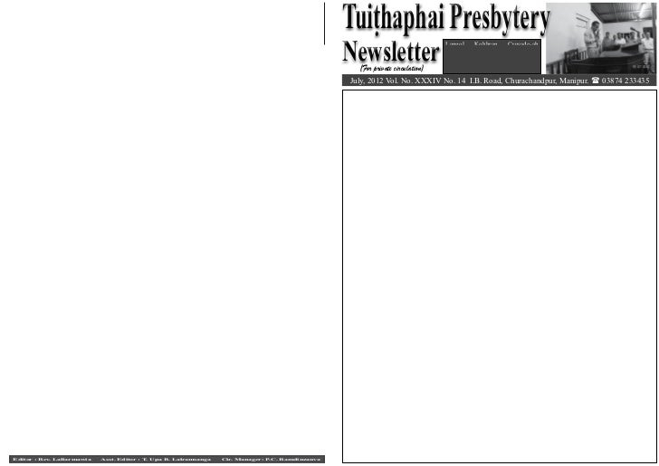 TP Newsletter July - September 2012 Slide 3