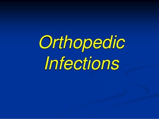 OrthopedicInfections