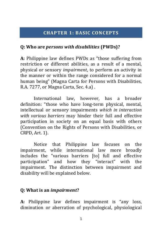 Vol 1 access to justice of persons with disabilities