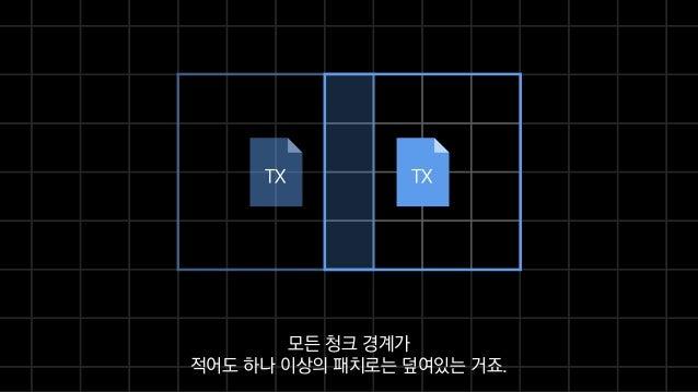 TXTX 모든 청크 경계가 적어도 하나 이상의 패치로는 덮여있는 거죠.